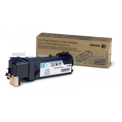 XEROX PHASER 6128MFP TONER CARTRIDGE CYAN